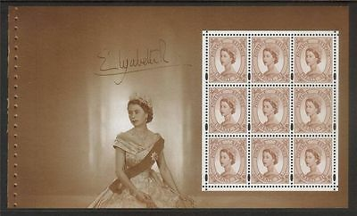 GB 1998 SG DX20 Pane 2032a  from Definitive Portrait Prestige Booklet - mint