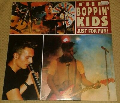 The Boppin' Kids: Just for fun! Lp  Near Mint!