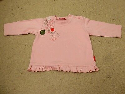Pampolina Pink Long Sleeved Top Size 62 / 3 Months
