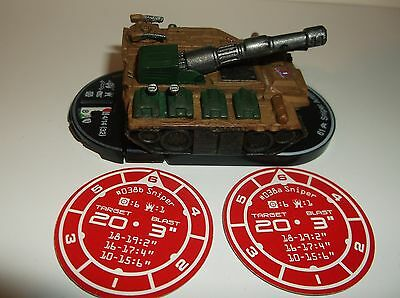 MechWarrior Sniper Artillery #038, With 2 Battle Tokens, Fire For Effect NEW!!!!