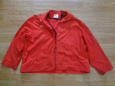 vintage coca-cola zip jacket Riverside Flexbac delivery driver insulated Large