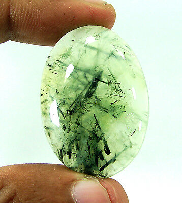 66.10 Ct Beautiful Natural Cabochon Prehnite Loose Gemstone Stone - 9955