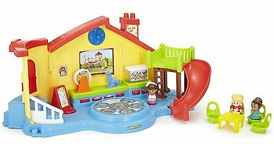 Fisher Price Toy Little People Educational Musical Preschool 3 Figures Playset