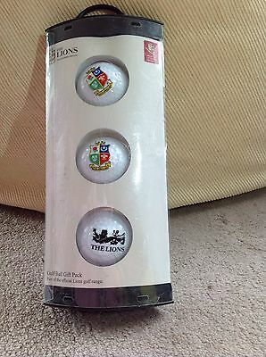 The lions Golf Ball Set