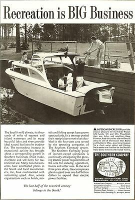 Vintage The Southern Company Original  Magazine Ad 1960s