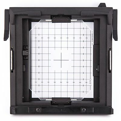 "Sinar 4x5"" ground glass spring back film holder for F, F1, F2, P, P1, Norma etc."