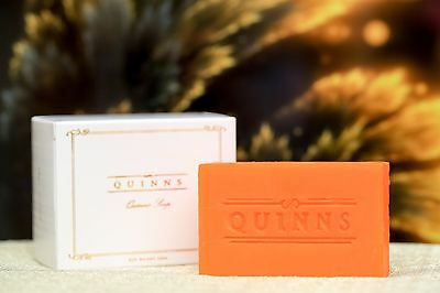 QUINNS Mango Extract Soap. Treatment for Eczema, Acne & Stretch Marks 120g Bar