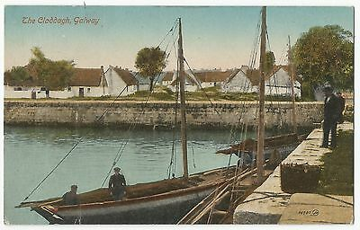Old Postcard 'The Claddagh' Galway