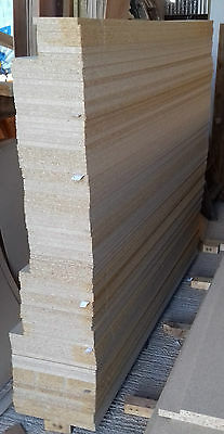 85 Pieces of NEW 6ft long 18mm EGGAR Commercial Grade High Density Chipboard