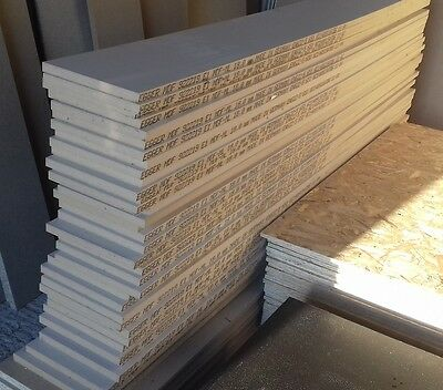 10 Pieces of NEW 18mm Beige Laminated MDF 79in x 8½in (2006mm x 216mm)
