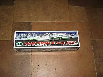 2010 Hess Truck and Jet Hauler in the box