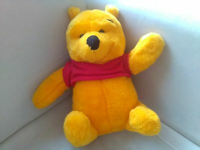 WINNIE THE POOH CUDDLY SOFT TOY TEDDY Disney Character NO RESERVE TV NR PLUSH