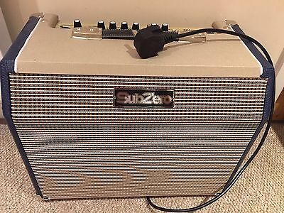 SubZero 25W Acoustic Guitar Amp with microphone