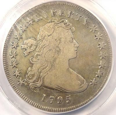 1795 Draped Bust Silver Dollar ($1 Coin, Small Eagle). ANACS VF20 - $5,000 Value