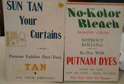 Putnam Dyes advertisements set of 2