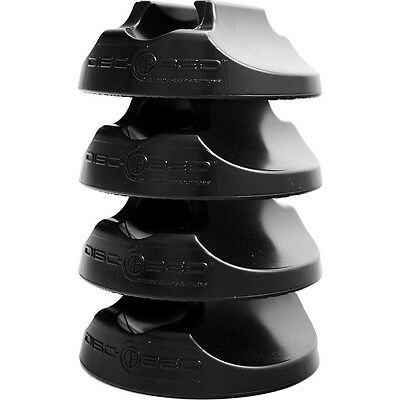 Disc-O-Bed Non Slip Footpads - Black Outdoor Accessorie NEW