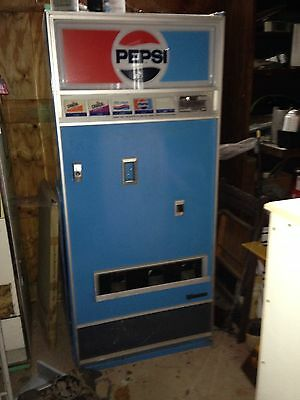 Vintage Pepsi Cola Soda Pop Vending Machine