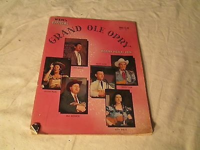 RARE 1957 WSM's Official Grand Ole Opry History - Picture Book Vol. 1 No. 1