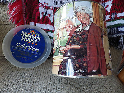 Vintage  1993 Maxwell  House Coffee  Can  Collectible
