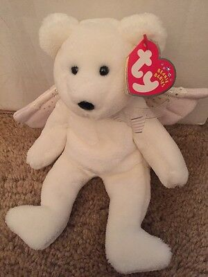 Ty Beanie Baby ~ HERALD the (Angel Bear ~ New with TAGS