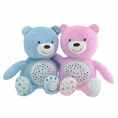 Chicco Child / Kids Plush Baby Bear Nursery Projector Muscical Nightlight