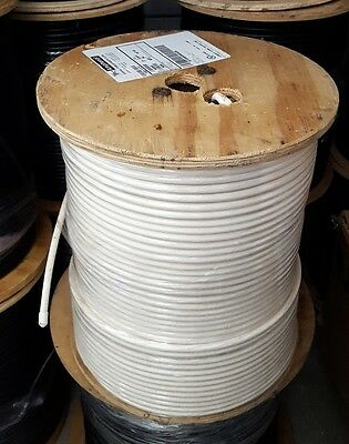 TFC 1000' RG6 Copper Clad Steel CATV Drop Cable 18 AWG 75 Ohm CATV