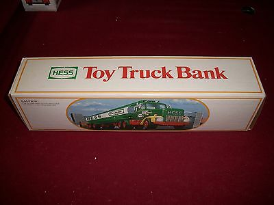 1984 HESS TOY TRUCK BANK MINT IN the original BOX