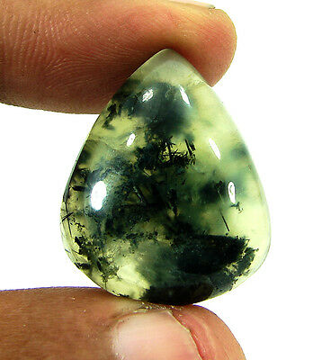 39.50 Ct Beautiful Natural Cabochon Prehnite Loose Gemstone Stone - 9886
