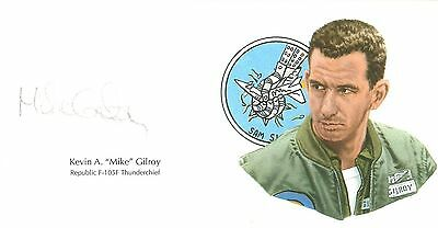 Mike Gilroy Signed Cut Signature GOE Lithograph