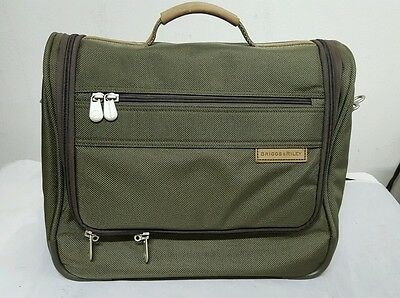 Briggs & Riley Travelware Carry On ~ Overnight ~ Tote ~ Nylon ~ Olive Green