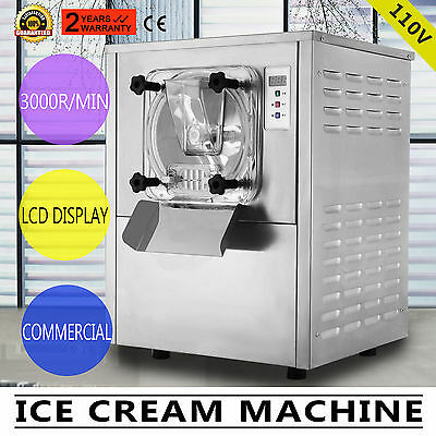 Frozen Hard Ice Cream Machine Commercial 20L cold bridge 220V HIGH QUALITY