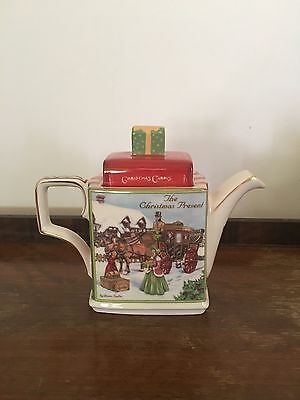 Sadler Classic Stories Teapot 'The Christmas Present'