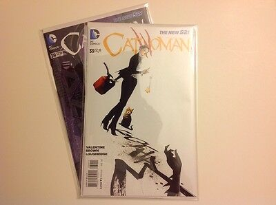 DC Comics - CATWOMAN #39 and Harley Quinn Variant Cover