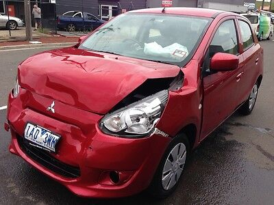 2013 Mitsubishi Mirage DAMAGED