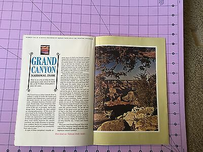 """Vintage Badger Paper Mills Commercial Printing Papers Ad """"The Grand Canyon"""""""