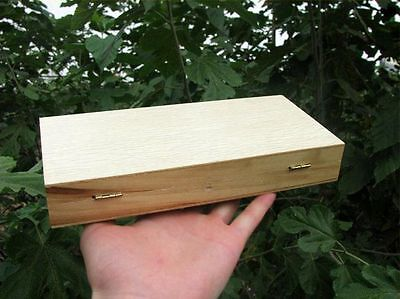 Microscope Slides Box Wooden Holder Case Lab Pathological Slides Storage Box