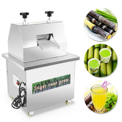 Mini Electric Sugar Cane Ginger Press Juicer Stainless Steel Desktop 110V/220