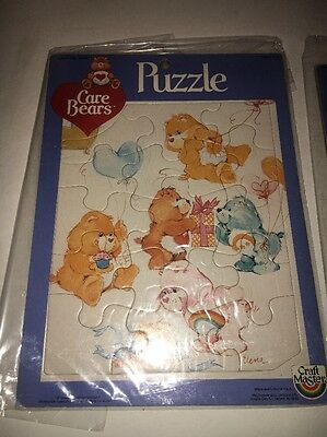 Care Bears Puzzle Set Buy Craft Master 1983