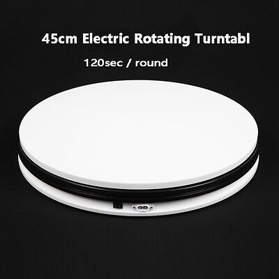 FALCONEYES 45cm 360 Degree Electric Rotating Turntable for Photography Display