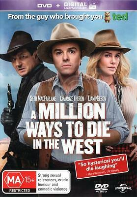 Ultraviolet code ONLY- SD- A Million Ways To Die In The West