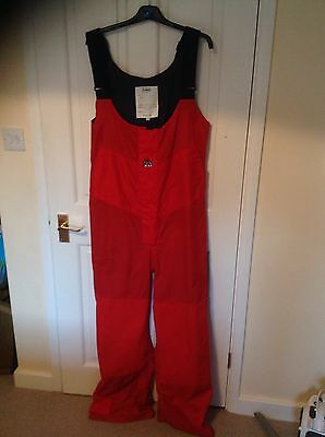 sailing trousers XM Red Size Large
