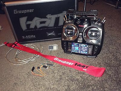 Helicopter Graupner Mz-24 2.4Ghz.               With Graupner Case!