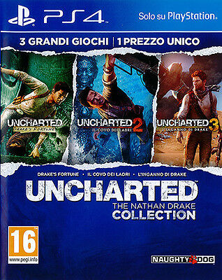 Uncharted: The Nathan Drake Collection - PS4 ITA - NUOVO SIGILLATO  [PS40208]