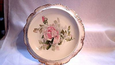 Barkers & Kent Ltd(Dated Between 1898 & 1941)Cake Stand/plate With Rose Design
