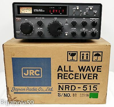 Japan Radio NRD-515 Receiver Shortwave Communications Radio ***QUALITY UNIT***