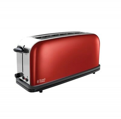 Russel Hobbs Colours Flame Red Langschlitz-Toaster 21391-56