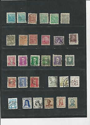 BRAZIL - SELECTION OF EARLY USED STAMPS - #BRA1ab