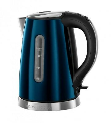 Russel Hobbs Jewels Topaz-Blue Wasserkocher (2.400 Watt) 21770-70