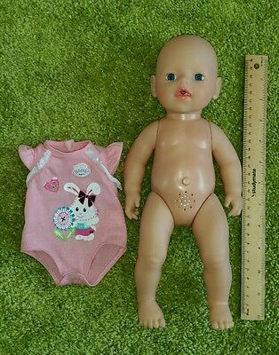 Zapf Creations My Little Baby Born toy doll Moves legs