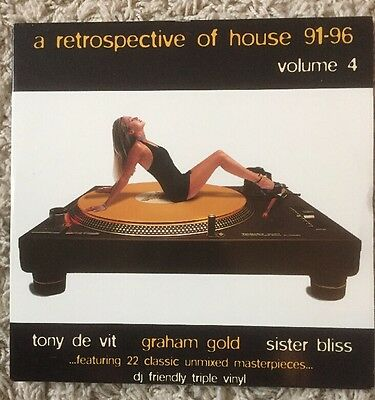 A Retrospective of House '91-'96 Volume 4, 3x Vinyl LP (House) 1996